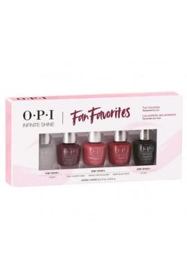 OPI Infinite Shine - Fan Favorites - 3.75 mL / 0.125 oz each