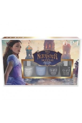 OPI Infinite Shine - The Nutcracker and the Four Realms 2018 - Mini 4 Pack - 3.75 mL / 0.125 oz Each