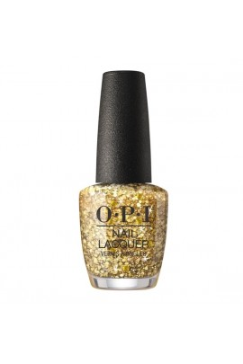 OPI Nail Lacquer  - The Nutcracker and the Four Realms  Collection - Gold Key to the Kingdom