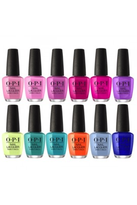 OPI Nail Lacquer - Tokyo Collection 2019 - All 12 Colors - 15 mL / 0.5 oz Each