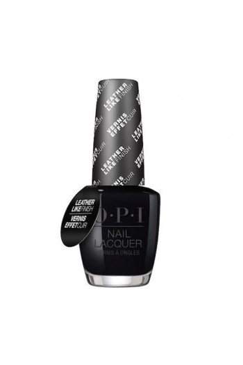 OPI Nail Lacquer - Grease Leather Like Finish Collection - Grease is the Word - 0.5 oz /15 mL