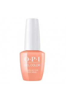 OPI GelColor - Mexico City Spring 2020 Collection - Coral-ing Your Spirit Animal - 15ml / 0.5oz