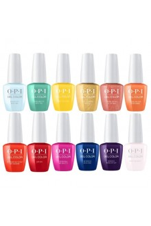 OPI Gelcolor - Mexico City Spring 2020 Collection - All 12 Colors - 15ml / 0.5oz Each