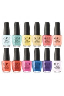 OPI Nail Lacquer - Mexico City Spring 2020 Collection - All 12 Colors - 15ml / 0.5oz Each