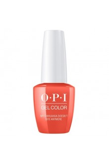 OPI GelColor - Mexico City Spring 2020 Collection - My Chihuahua Doesn't Bite Anymore - 15ml / 0.5oz