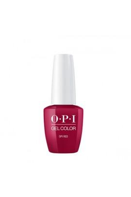 OPI GelColor Midi - OPI Red - 7.5 mL / 0.25 fl. oz