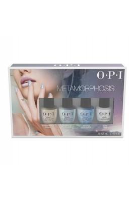 OPI Nail Lacquer - Metamorphosis 2018 Mini 4 Pack - WHITE - 3.75 mL / 1.125 oz each