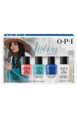 OPI Nail Lacquer - Lisbon Collection - Mini 4 Pack -  3.75mL / 0.125 fl. oz. each