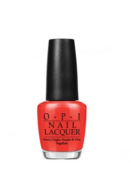 OPI Nail Lacquer - My Paprika is Hotter than Yours - 15 ml / 0.5 oz
