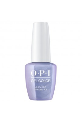 OPI GelColor - Neo-Pearl Collection Spring 2020 - Just A Hint Of Pearl-ple - 15ml / 0.5oz