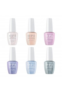 OPI GelColor - Neo-Pearl Collection Spring 2020 - All 6 Colors - 15ml / 0.5oz Each