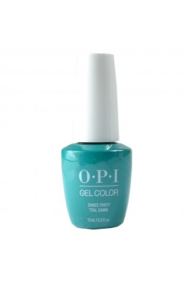 OPI GelColor - Neon Collection Summer 2019 - Dance Party 'Teal Dawn - 15ml / 0.5oz