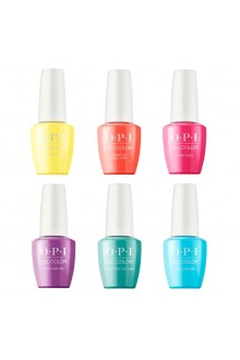 OPI GelColor - Neon Collection Summer 2019 - All 6 Colors - 15ml / 0.5oz Each