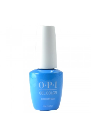 OPI GelColor - Neon Collection Summer 2019 - Music Is My Muse - 15ml / 0.5oz