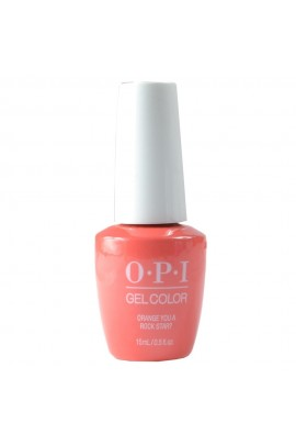 OPI GelColor - Neon Collection Summer 2019 - Orange You A Rock Star? - 15ml / 0.5oz