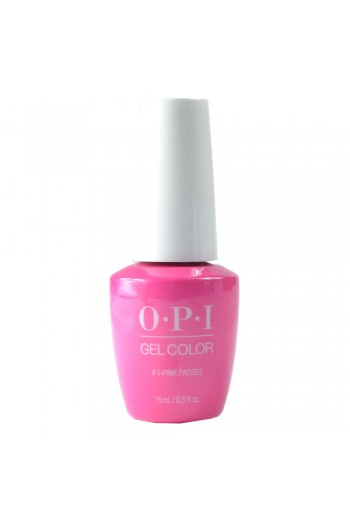 OPI GelColor - Neon Collection Summer 2019 - V-I-Pink Passes - 15ml / 0.5oz
