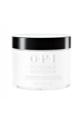 OPI Powder Perfection - Acrylic Dip Powder - Alpine Snow - 1.5oz / 43g