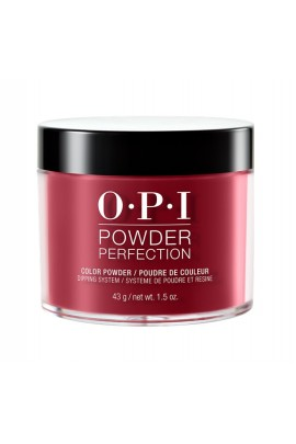 OPI Powder Perfection - Acrylic Dip Powder - Chick Flick Cherry - 1.5oz / 43g