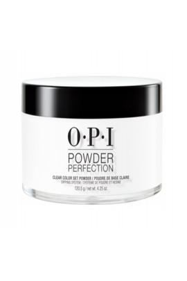 OPI Powder Perfection - Acrylic Dip Powder - Clear Color Set Powder  - 1.5oz / 43g