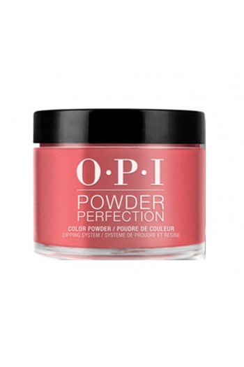 OPI Powder Perfection - Acrylic Dip Powder - Color So Hot It Berns - 1.5oz / 43g