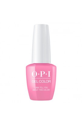 OPI GelColor - Peru Collection - Lima Tell You About This Color! - 15 ml / 0.5 oz
