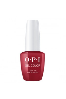 OPI GelColor - Peru Collection - I Love You Just Be-Cusco - 15 ml / 0.5 oz