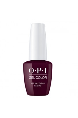 OPI GelColor - Peru Collection - Yes My Condor Can-Do! - 15 ml / 0.5 oz