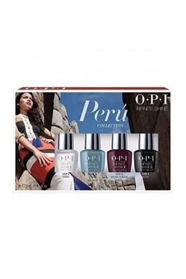 OPI Infinite Shine - Peru Collection - 4 Pack Mini - 3.75 ml / 0.125 oz Each