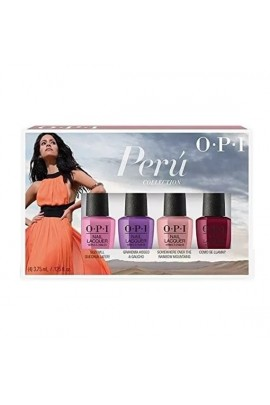 OPI Nail Lacquer - Peru Collection - 4 Pack Mini - 3.75 ml / 0.125 oz Each