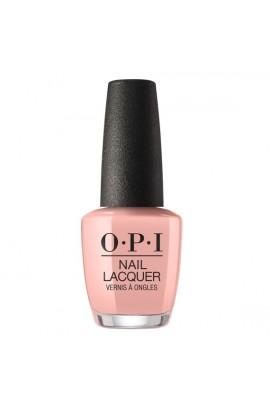 OPI Nail Lacquer - Peru Collection - Machu Peach-u - 15 ml / 0.5 oz