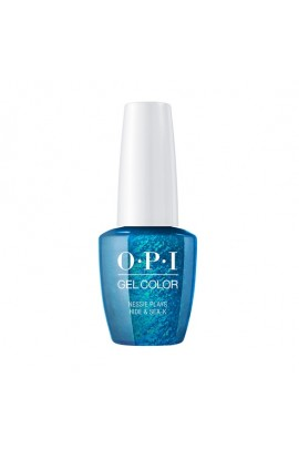 OPI GelColor - Scotland Collection Fall 2019 - Nessie Plays Hide & Sea-K - 15ml / 0.5oz