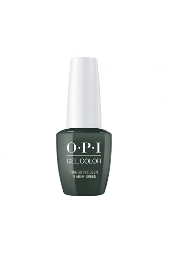 OPI GelColor - Scotland Collection Fall 2019 - Things I've Seen In Aber-Green - 15ml / 0.5oz