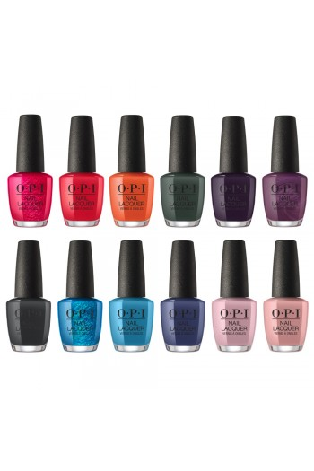 OPI Nail Lacquer - Scotland Collection Fall 2019 - All 12 Colors - 15ml / 0.5oz Each