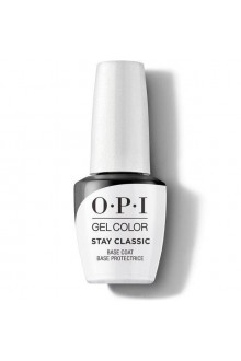 OPI GelColor - Stay Classic Base Coat - 15ml / 0.5oz
