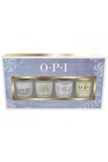 OPI  Nail Lacquer - The Nutcracker Collection Mini Treatments 4 Pack 3.75 mL / 0.125 oz Each