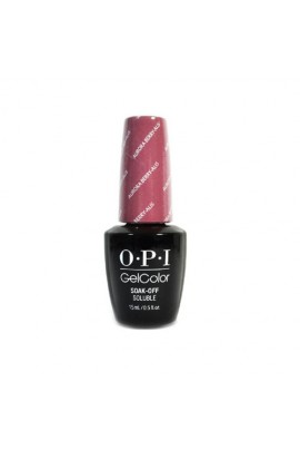 OPI GelColor - Iceland Fall 2017 Collection - Aurora Berry-alis - 0.5oz / 15ml