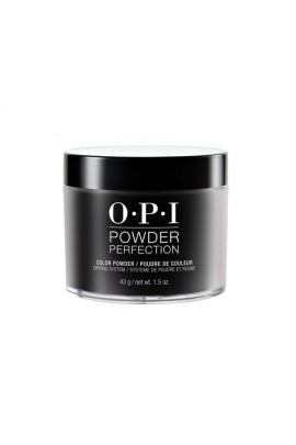 OPI Powder Perfection - Acrylic Dip Powder - Black Onyx - 1.5oz / 43g