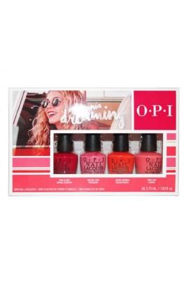 OPI Nail Lacquer - California Dreaming Summer 2017 Collection - Mini 4pk - 3.75ml / 0.125oz Each