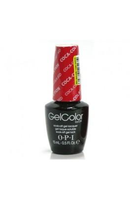 OPI GelColor - Coca-Cola 2014 Collection - Coca-Cola Red - 0.5oz / 15ml