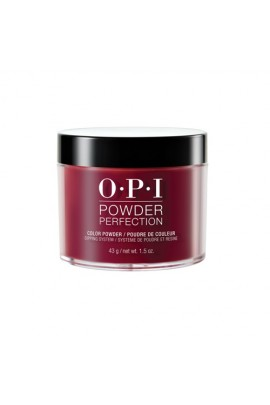 OPI Powder Perfection - Acrylic Dip Powder - Malaga Wine - 1.5oz / 43g