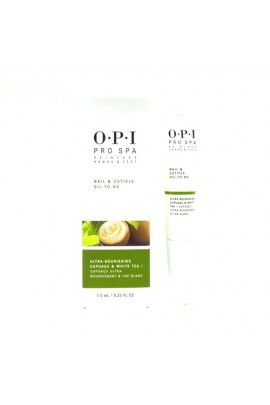 OPI Pro Spa - Skincare Hands & Feet - Nail & Cuticle Oil To-Go - 0.25oz / 7.5ml