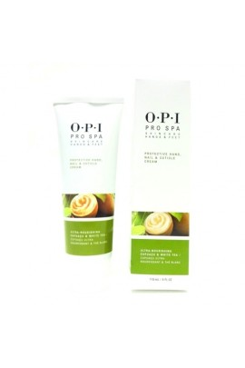 OPI Pro Spa - Skincare Hands & Feet - Protective Hand, Nail & Cuticle Cream - 4oz / 118ml