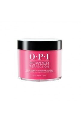 OPI Powder Perfection - Acrylic Dip Powder - Strawberry Margarita - 1.5oz / 43g