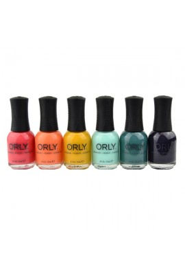 ORLY Nail Lacquer - Day Trippin' Collection - All 6 Colors - 0.6oz / 18ml