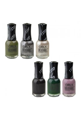 ORLY Breathable Lacquer - Treatment+Color - All Tangled Up Collection - All 6 Colors - 0.6oz / 18ml Each