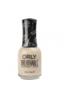Orly Breathable Nail Lacquer - Treatment + Color - Almond Milk - 0.6oz / 18ml