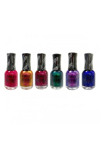 ORLY Breathable Lacquer - Treatment+Color - Bejeweled Collection - All 6 Colors - 0.6oz / 18ml Each