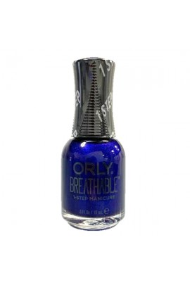 ORLY Breathable Lacquer - Treatment+Color - Bejeweled Collection - You're On Sapphire - 0.6oz / 18ml