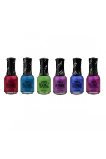 ORLY Breathable Lacquer - Treatment+Color - Super Bloom Collection - All 6 Colors - 0.6oz / 18ml Each