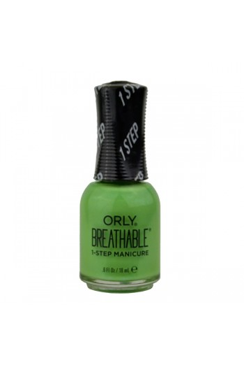 ORLY Breathable Lacquer - Treatment+Color - Super Bloom Collection - Here Flora Good Time - 0.6oz / 18ml